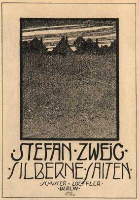 El primer libro de poemas de Zweig, Cuerdas de plata (1901)