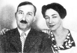 Stefan y Lotte Zweig