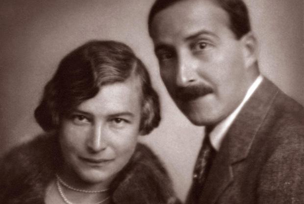 Friderike y Stefan Zweig en 1925