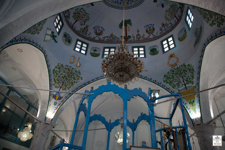 Sinagoga Abuhav en Safed, fundada alrededor de 1500 por judíos españoles